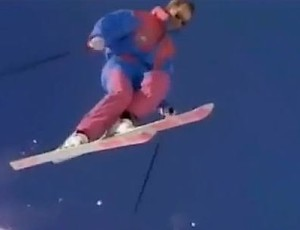 License to Thrill ski movie (Glen's vision of the opening)