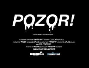 Snowbuzz - POZOR! Trailer