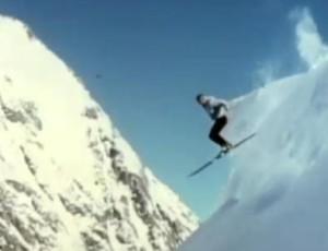 Powder Skiing July 1961 in New Zealand