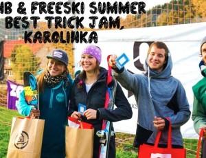 SNB & Freeski Summer Best Trick Jam vol. 2, Karolínka