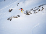 Sean Collin (USA) - D.Carlier - Swatch Freeride World Tour by The North Face 2014 Courmayeur Mont Blanc.jpg