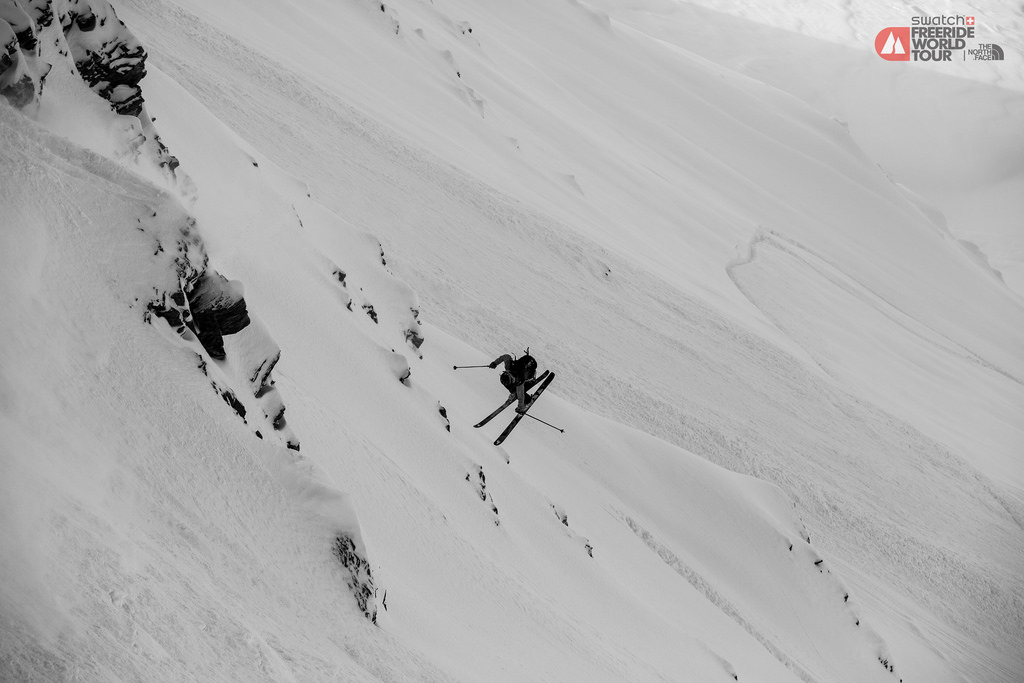 Swatch Freeride World Tour by The North Face 2014 - Courmayeur Mont Blanc - Jeremy Bernard-5