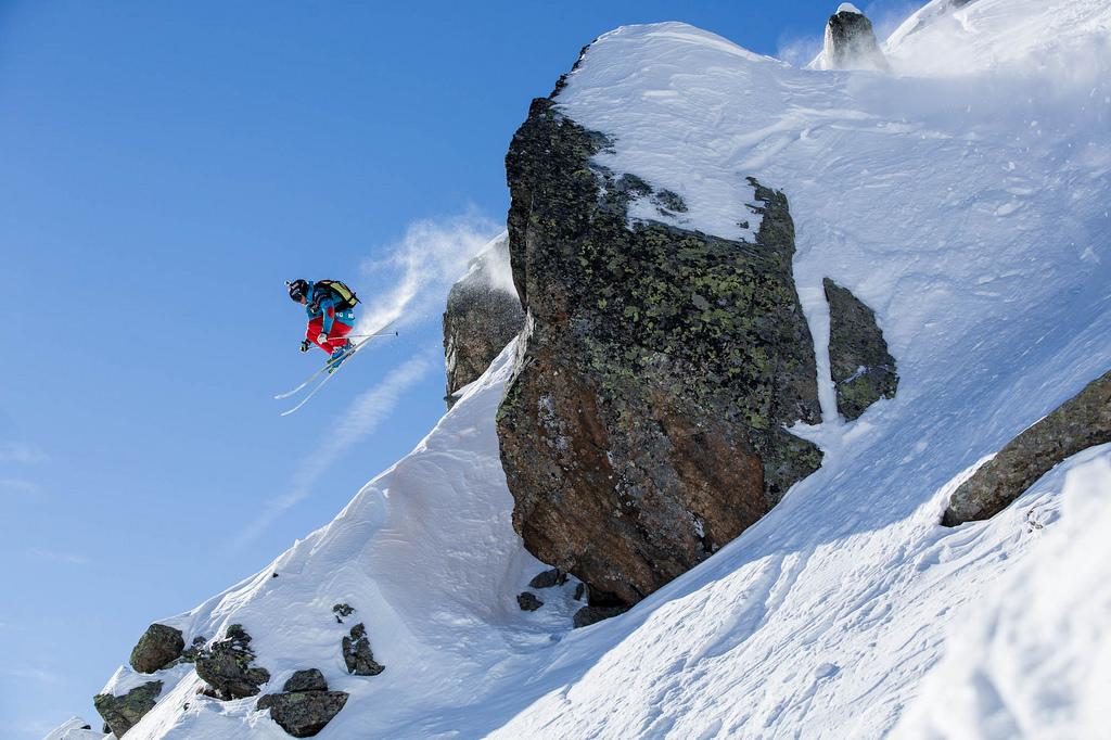 Wille Lindberg - -Jeremy Bernard - Swatch Freeride World Tour by The North Face 2014 Chamonix Mont Blanc.jpg