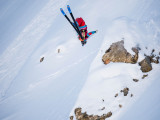 Wille Lindberg (SWE) - D.Carlier - Swatch Freeride World Tour by The North Face 2014 Courmayeur Mont Blanc-2