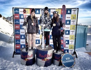 Zuzana Stromkova 3rd place at European Cup in Stubai